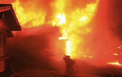 На Пустомитівщині згорів будинок