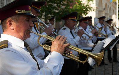 Концерт оркестру Національної гвардії України військової частини 3002