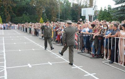 У Львові склали присягу на вірність українському народу 890 курсантів