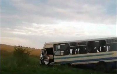 Жахлива аварія за участі маршрутки на Львівщині