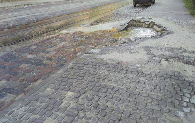 У Львові утворилось провалля