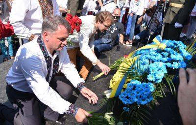 Львівщина разом з усією Україною святкує 27-у річницю Незалежності