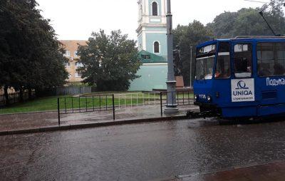 Злива у Львові