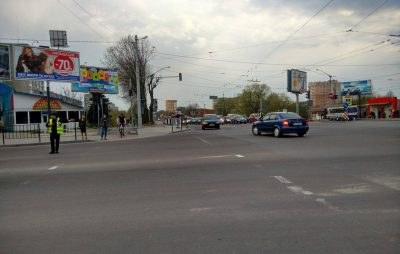 Стрийська - Наукова. Фото Галінфо