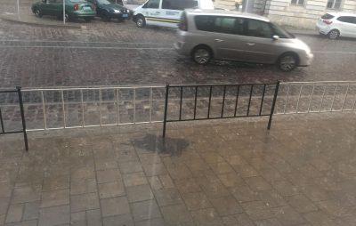 У Львові випав дощ
