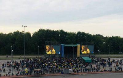 На Львівщині збірна команда України з футболу перемогла Словаччину в матчі Ліги націй
