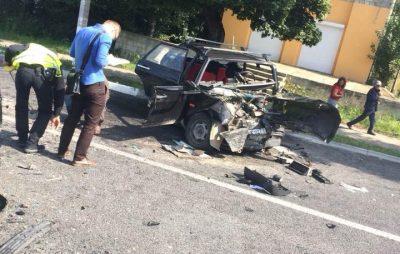 У Надвірній - жахлива аварія: п'ятеро осіб у лікарні