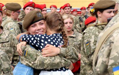 Майже півтисячі курсантів-першокурсників склали Військову Присягу на вірність українському народові