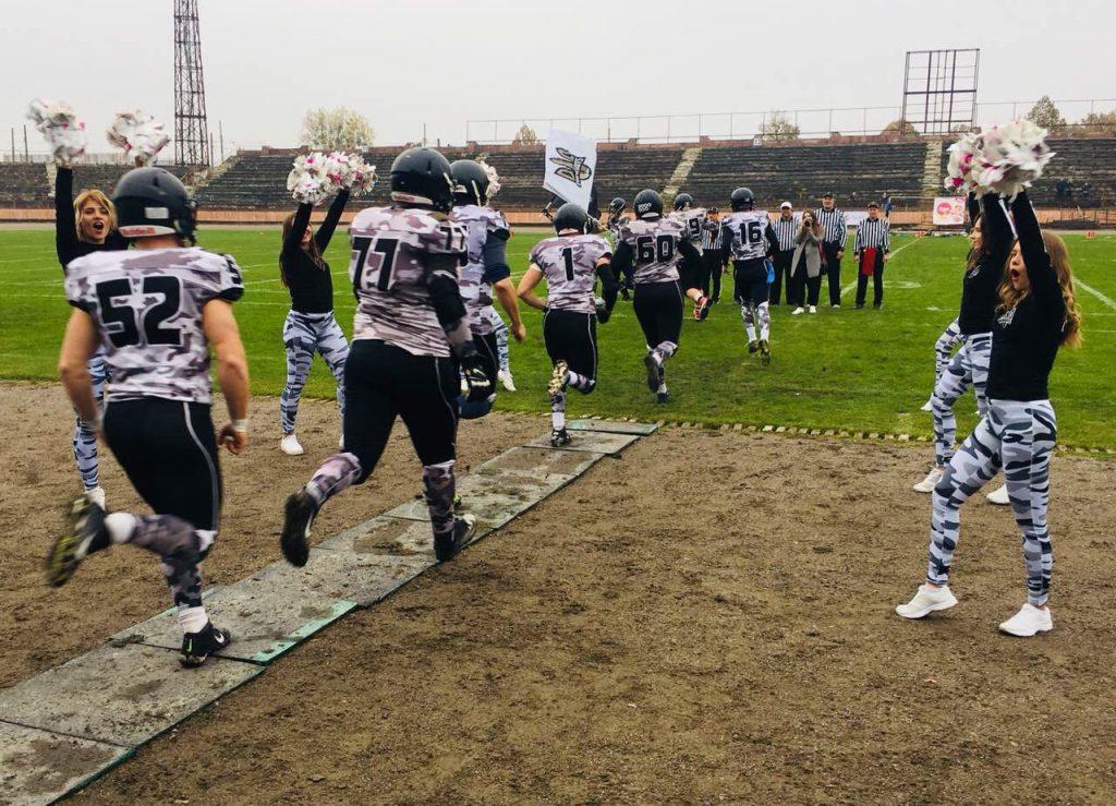 На Львівщині відбувся фінал української ліги американського футболу «Lions- Patriots». Фото прес-служба ЛОДА.