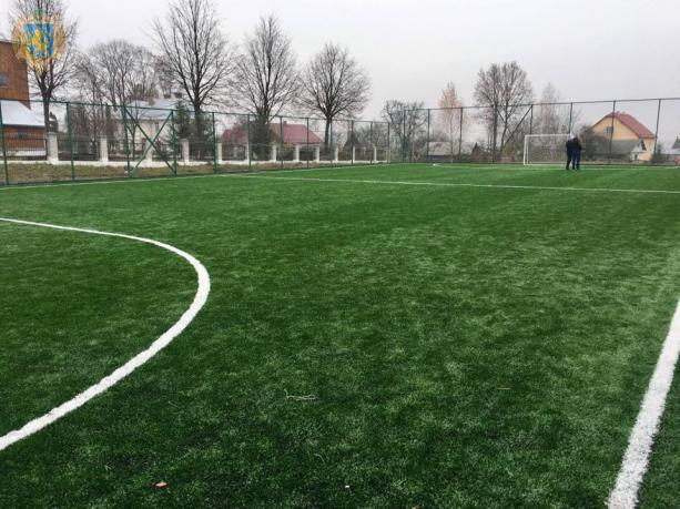 На Миколаївщині відкрили два спортивні майданчики