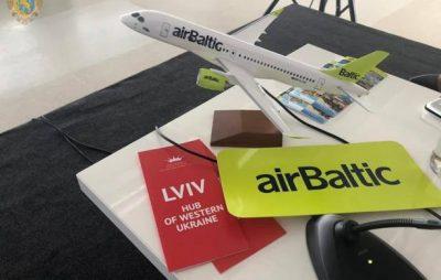 AirBaltic у Львові: аеропорт співпрацюватиме з авіакомпанією задля сполучення з Прибалтикою та Скандинавією