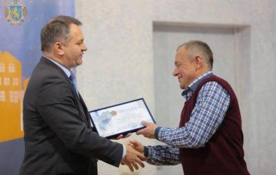 З нагоди професійного свята на Львівщині відзначили енергетиків. Фото: прес-служба ЛОДА.