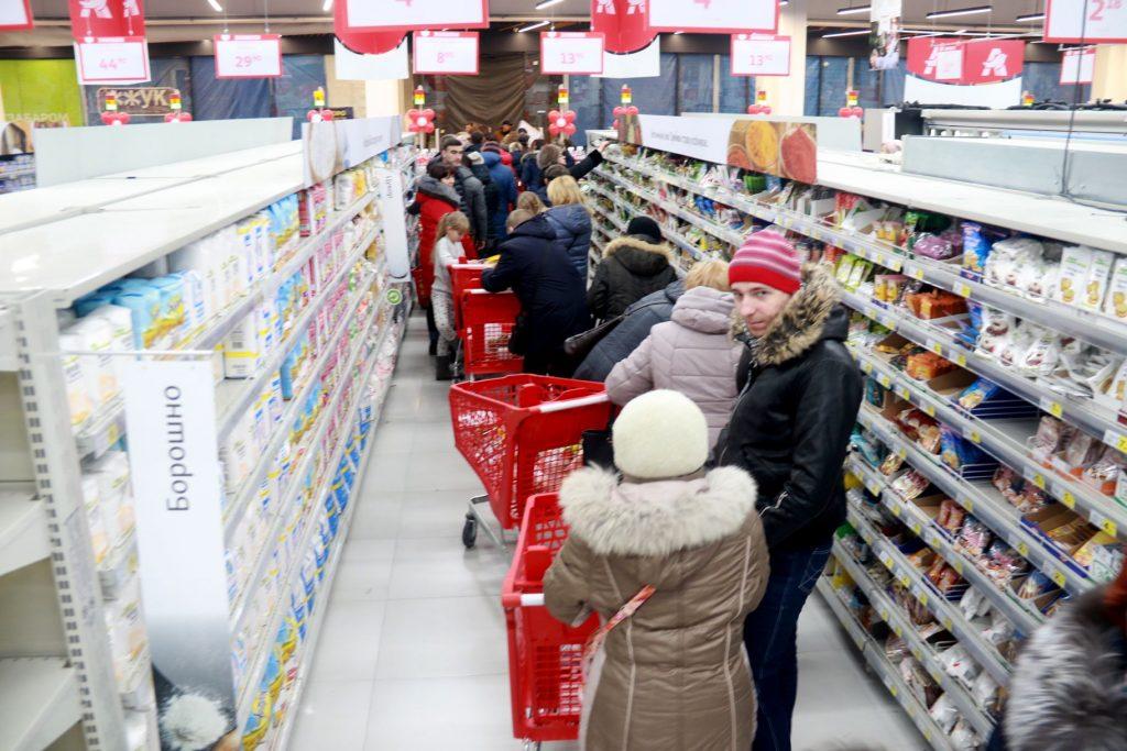 У Львові відкрили ще один супермаркет. Фото Назарій Юській, 4studio
