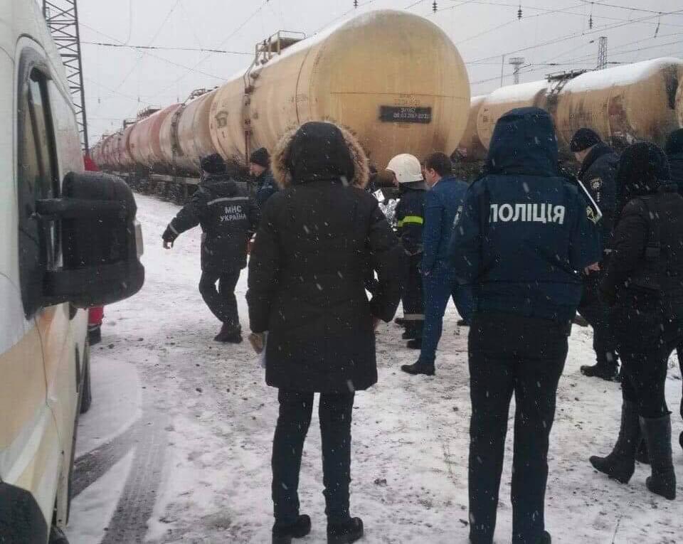 Правоохоронці встановлюють обставини ураження електрострумом двох осіб у Львові. Фото Варта-1