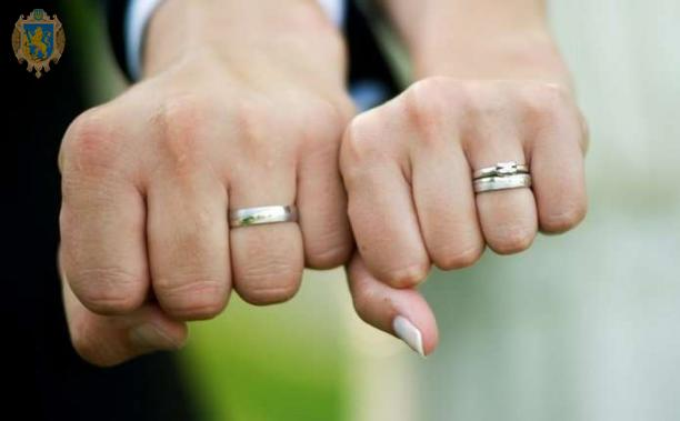 Мін'юст інформує про процедуру подачі документів для реєстрації шлюбу. Фото: прес-служба ЛОДА.