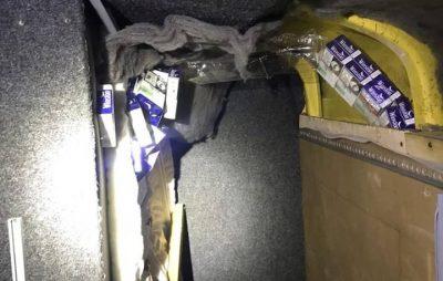 На Львівщині знайшли контрабанду в стелі автомобіля