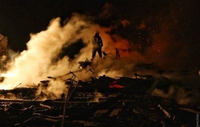 На Старосамбірщині під час пожежі власник отруївся продуктами горіння. Фото ілюстроване з відкритих джерел.