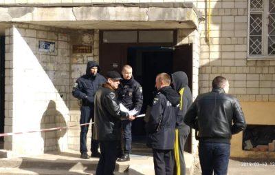 У одному із львівських ліфтів знайшли закривавлене тіло чоловіка. Фото: Варта1.