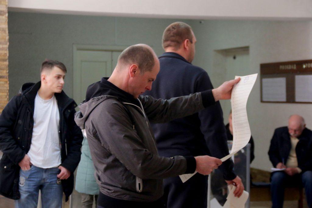 Вибори на Львівщині. Фото 4studio