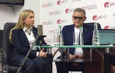 Оксана Юринець і Володимир Квурт. Фото 4studio