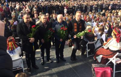 Львівщина святкує 205-ту річницю від дня народження Великого Кобзаря. Фото прес-служба Львівської обласної ради