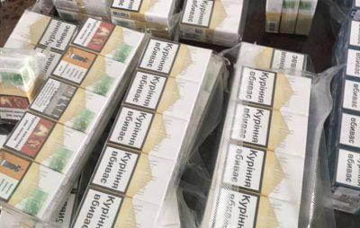 На кордоні з Польщею виявили понад 800 пачок сигарет