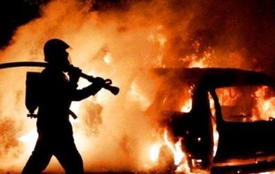 У Львові горіла автівка. Фото ілюстроване з відкритих джерел.