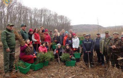 На Львівщині завершилась акція «Майбутнє лісу у твоїх руках»