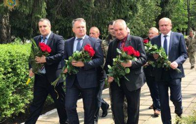 На Бродівщині вшанували пам'ять загиблих льотчиків