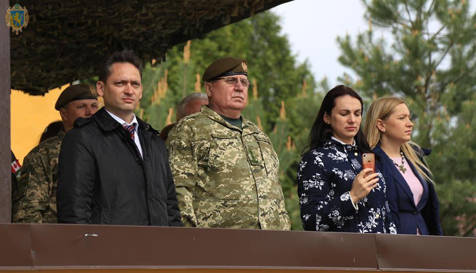 """На Яворівському полігоні змінили командування тренувальної групи """"Україна"""""""