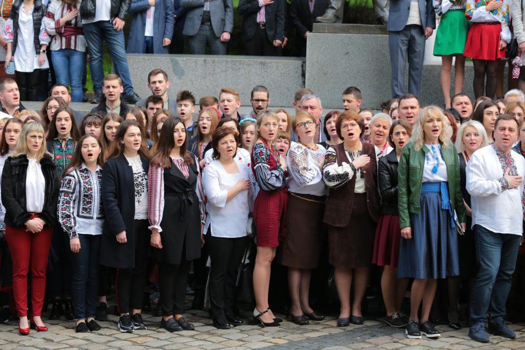 Львівщина святкує День вишиванки. Фото: прес-служба ЛОДА.