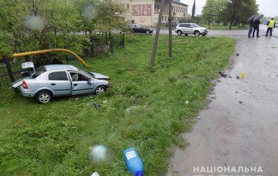 На Стрийщині легковик зіткнувся з вантажівкою