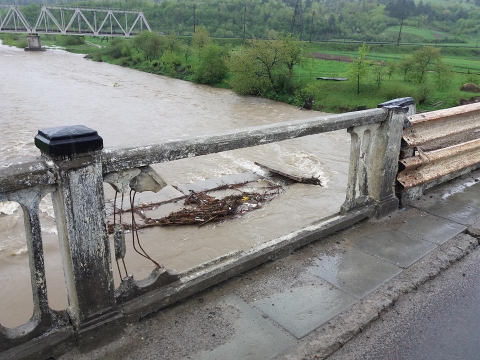 На Львівщині у річку впав міст