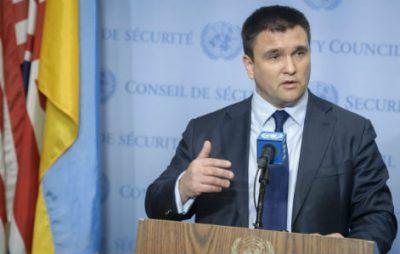 Клімкін написав заяву про звільнення. Фото: Українська Правда.