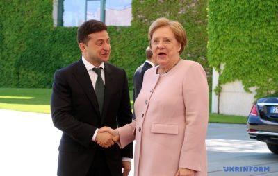 Меркель стало зле на зустрічі із Зеленським. Фото: відкриті джерела.