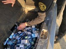 На кордоні із Польщею за вихідні вилучили 2 тонни товарів