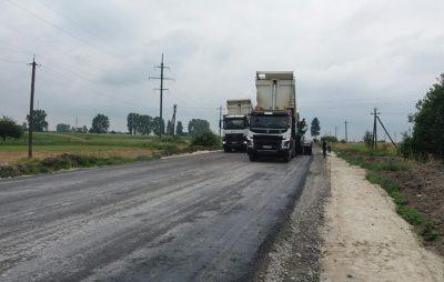 На Львівщині ремонтують дорогу до Меденич