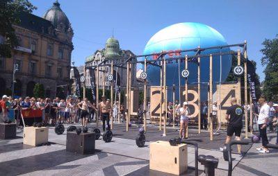 У центрі Львова стартували Ігри Героїв. Фото Четверта студія