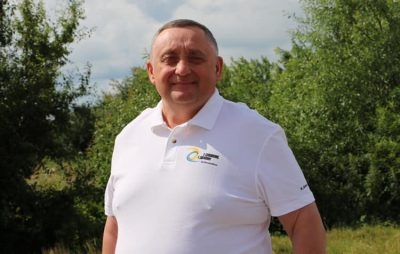 Богдан Дубневич визнав поразку на Львівщині. Фото: Богдан Дубневич.