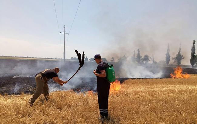 На Яворівщині під час пожежі жінка отримала сильні опіки. Фото: відкриті джерела.