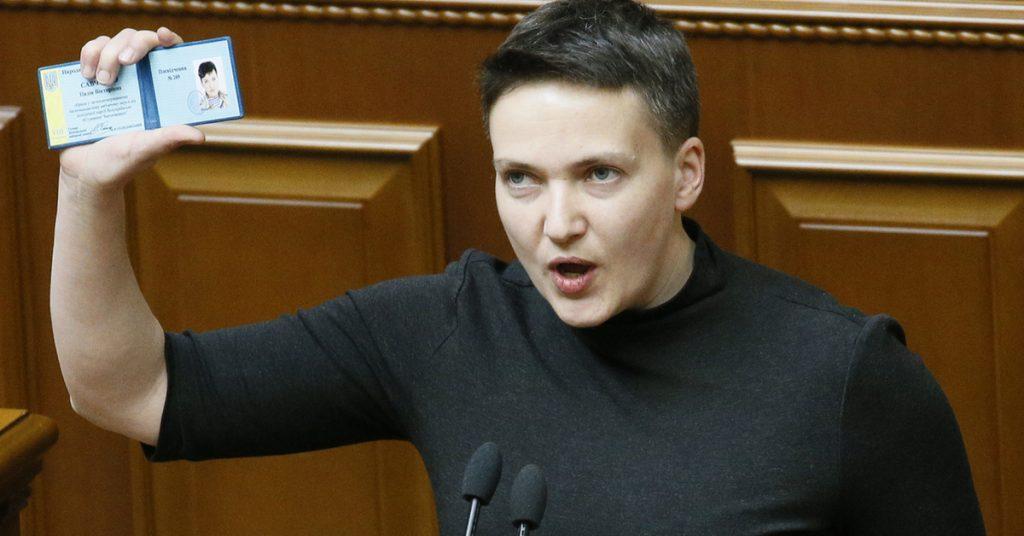 Петиція про позбавлення Савченко звання «Герой України» активно збирає голоси