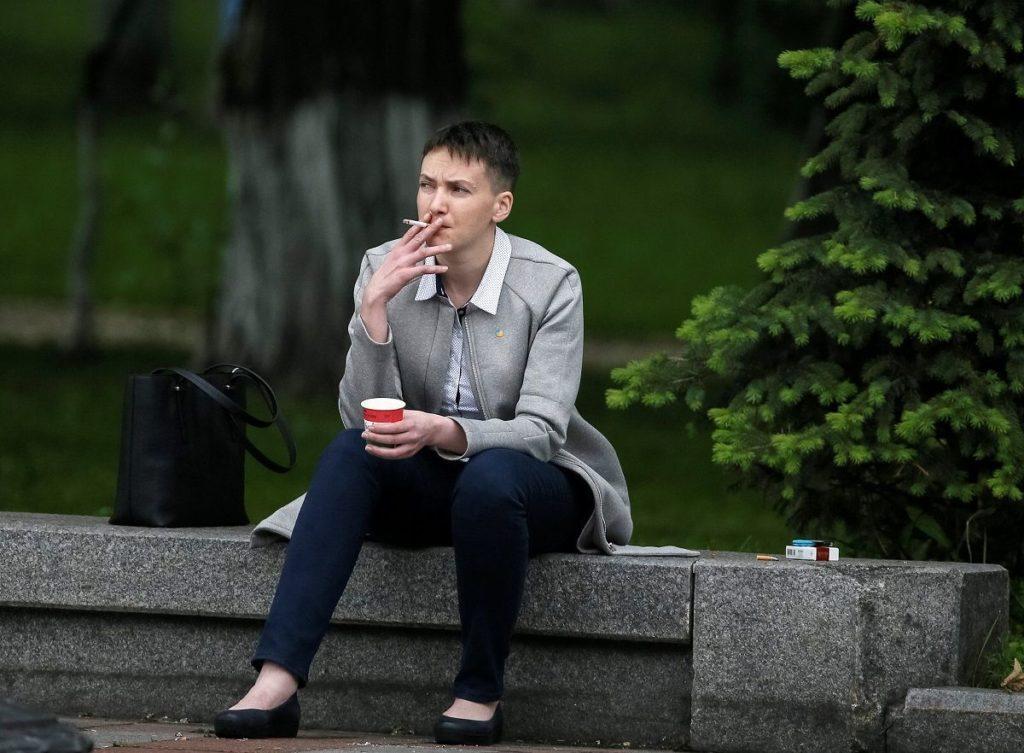 Савченко набрала лише 8 голосів на парламентських виборах. Фото: Прямий.