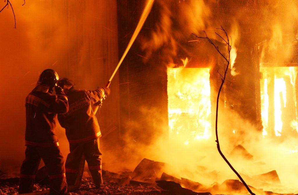 На Львівщині під час пожежі загинув 35-річний чоловік