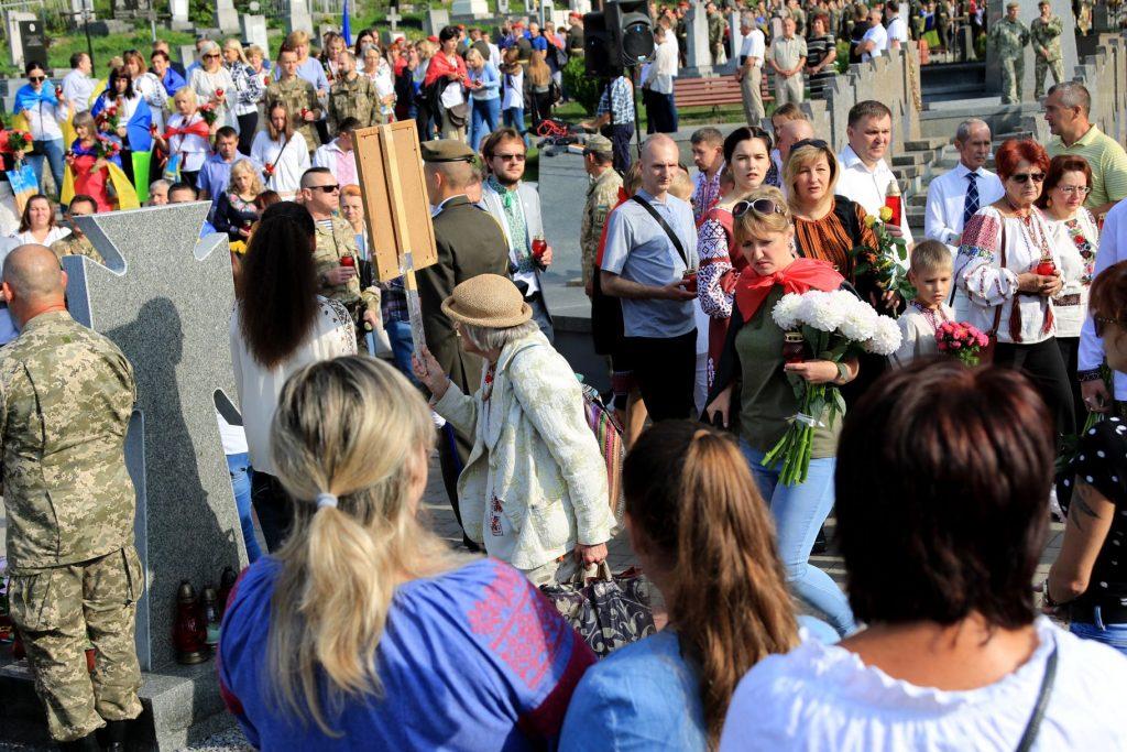 Львівщина урочисто відзначає 28-му річницю Незалежності України. Фото: 4studio.