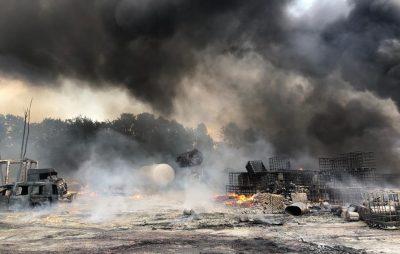 Пожежа у Чишках. Фото ДСНС Львівщини