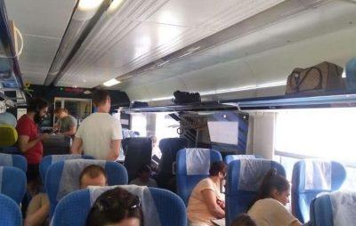 """У поїзді Київ-Перемишль російською лаялись """"совкові"""" вчителі та учні зі Сходу. Фото: відкриті джерела."""