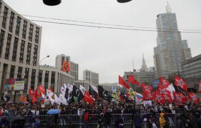 На мітинг проти репресій у Москві вийшло 25 тисяч осіб