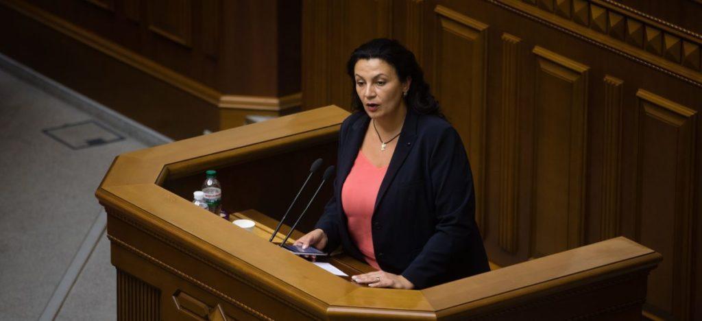 Іванна Климпуш-Цинцадзе. Фото: Прямий.