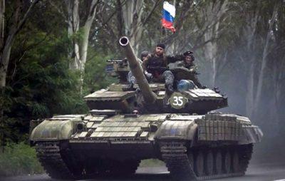 Російські війська на Донбасі. Фото: відкриті джерела.
