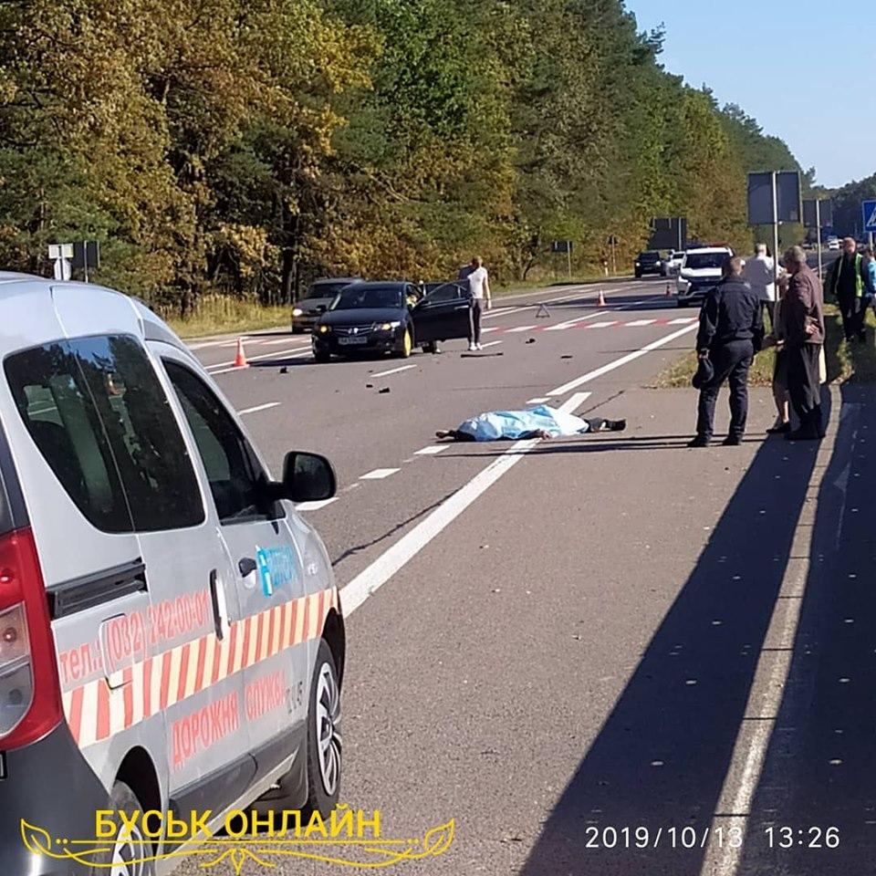 Внаслідок наїзду «Рено» у Львові загинув пішохід
